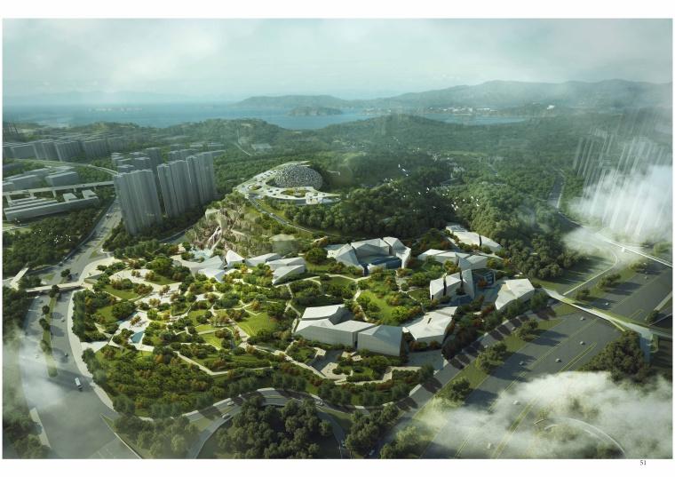[广东]深圳绿色自然博物公园景观设计方案