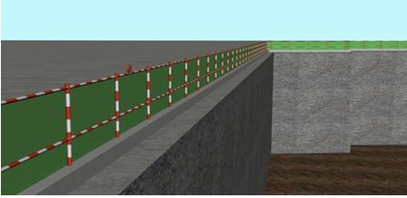 框剪结构高层住宅工程安全文明施工方案-02基坑临边防护