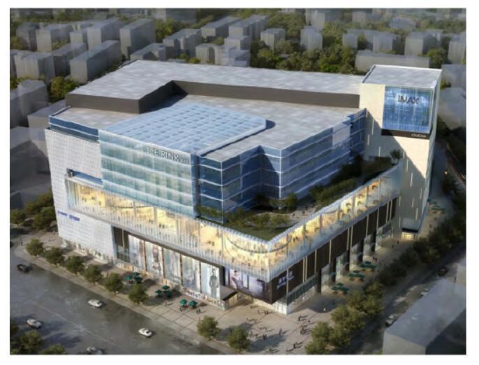 某商业广场结构设计关键技术