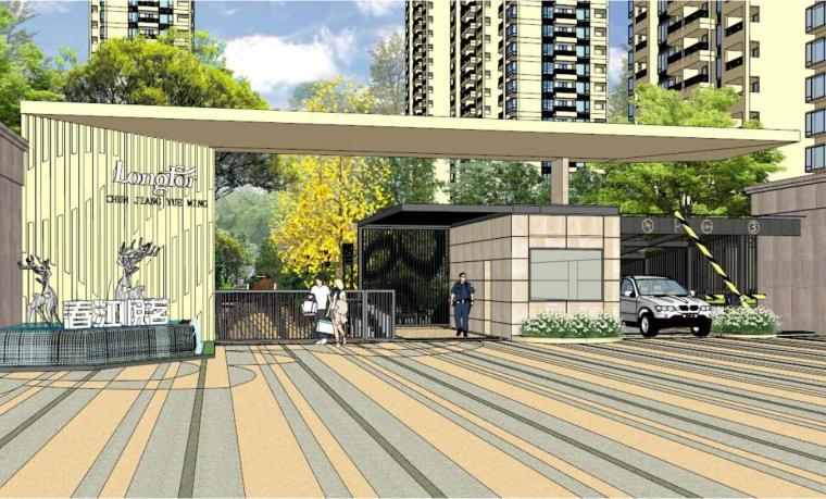 [浙江]杭州欧陆风格住宅景观方案设计