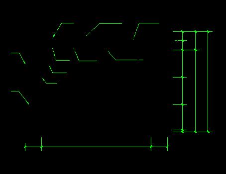 框剪结构高层住宅工程安全文明施工方案-06安全通道防护棚入口示意图