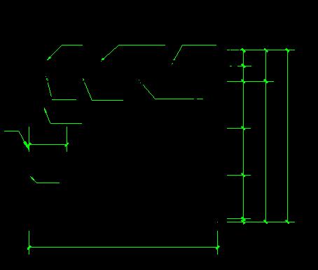 框剪结构高层住宅工程安全文明施工方案-07安全通道防护棚剖面图