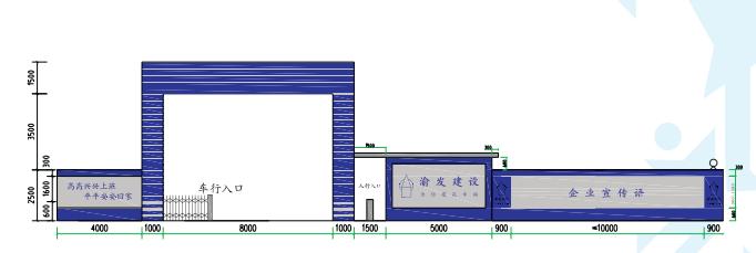 03施工区大门及围挡定型化设置