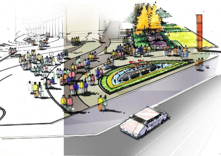 [上海]商业中心广场景观概念设计方案