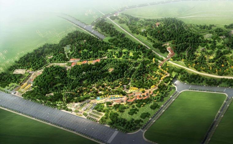 [湖南]复合型综合城市公园修建性详细规划