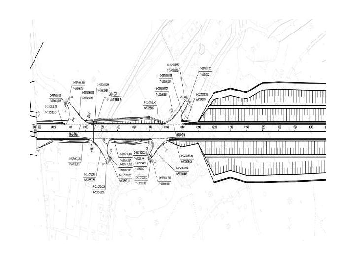 运输道路工程施工图设计(含投标文件和清单)