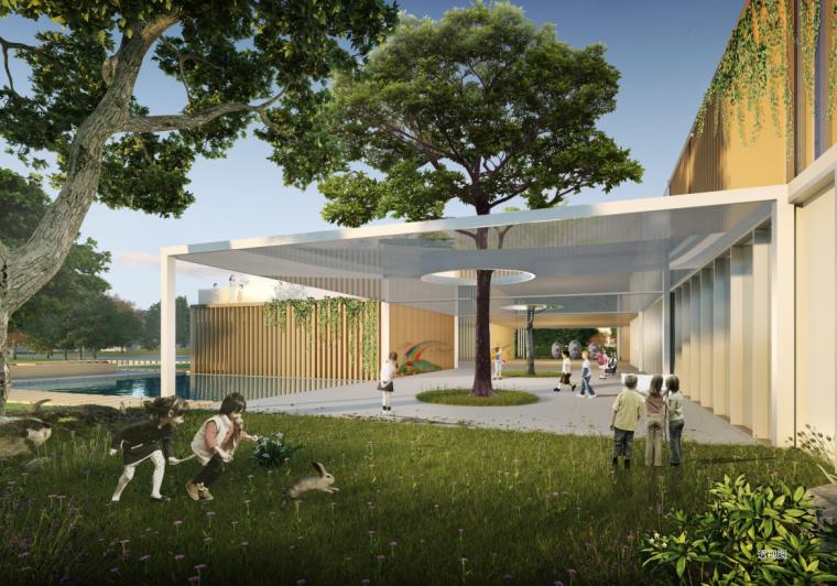 现代风格幼儿园概念方案设计