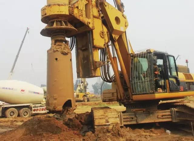 旋挖桩深填土质量问题及控制要点!