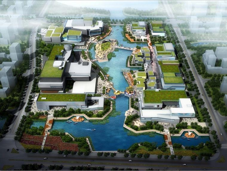 [浙江]城市文化广场概念设计方案