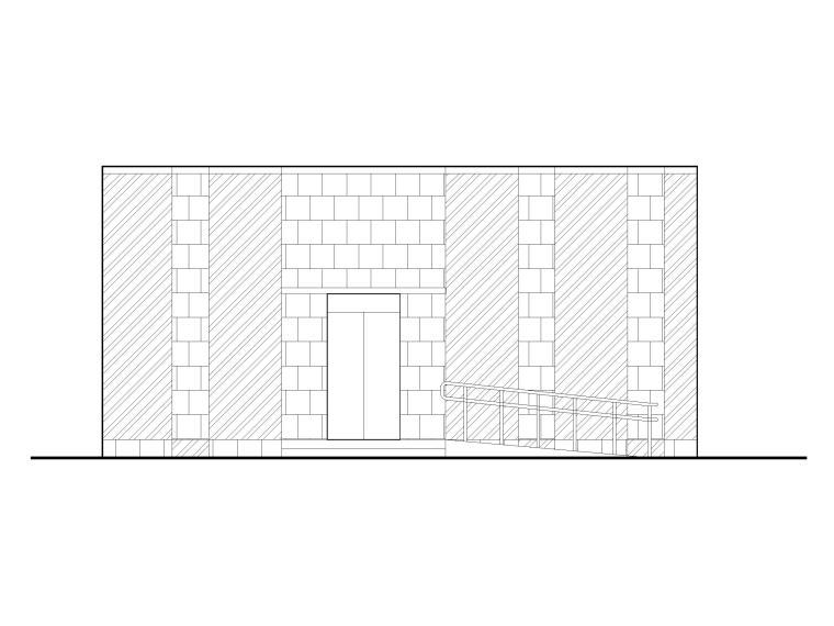 48套公厕建筑施工图设计_CAD