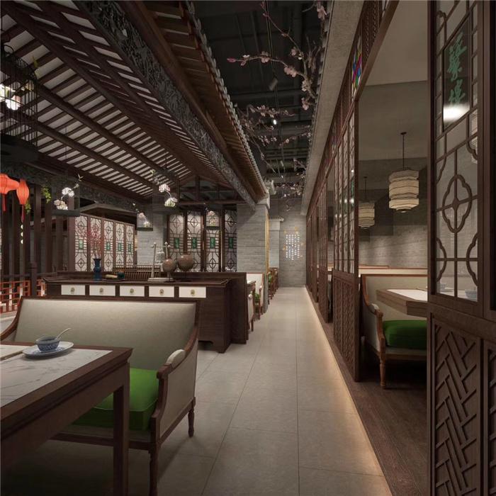 合肥中式茶楼文化氛围设计塑造个性茶馆