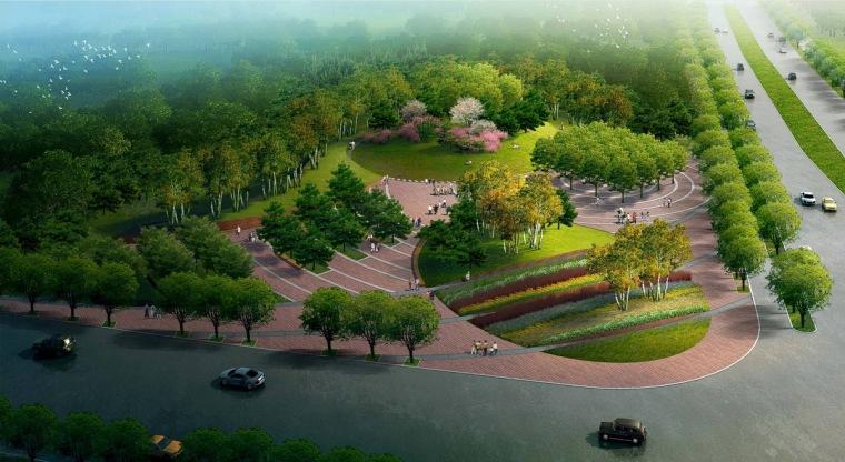 [黑龙江]科技创新城产业园区区景观设计方案