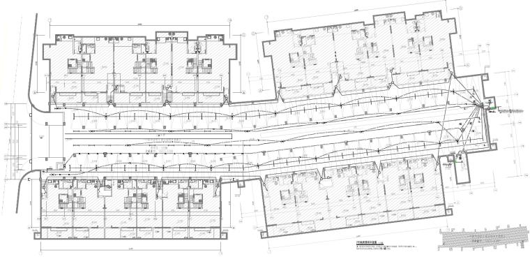 南京高档别墅区建筑结构及水电施工图