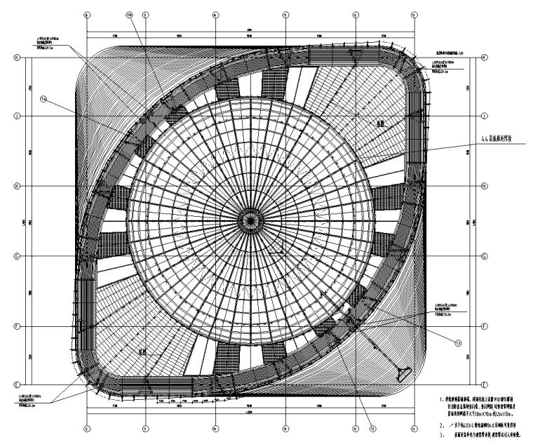 北京超高层办公楼全专业施工图(含智能化)