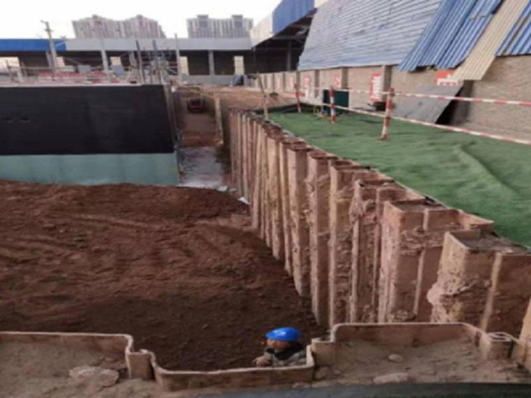 SMW围护桩施工方案及施工工艺