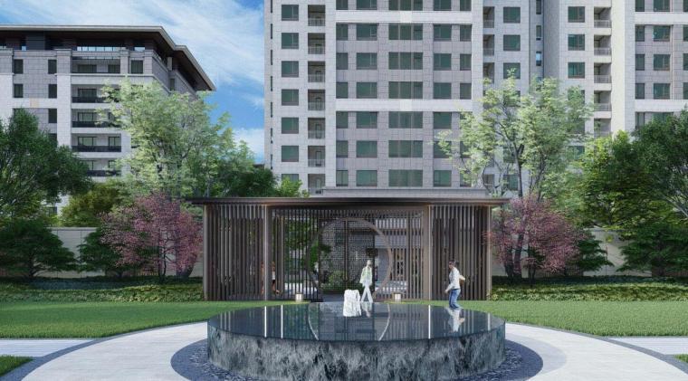[江苏]宜居生态住宅大区景观深化方案设计