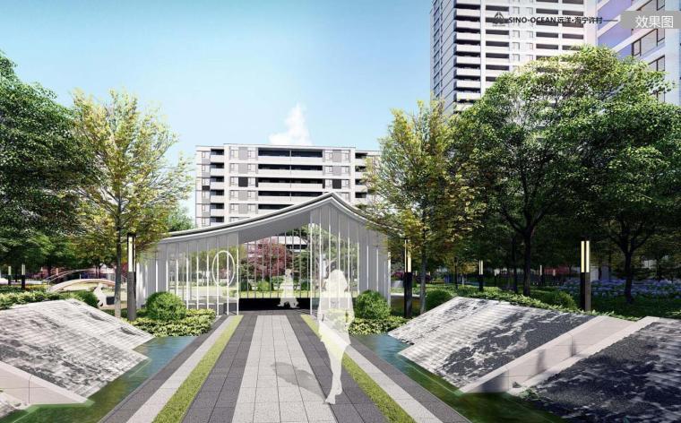 [海南]新中式风格典雅住宅大区景观方案