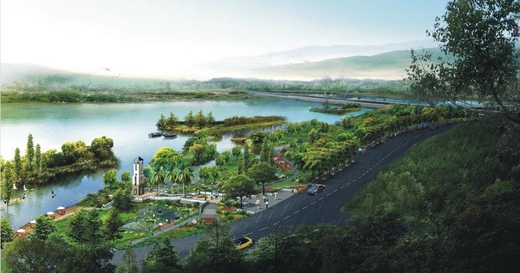 [福建]山地生态湿地公园景观设计方案