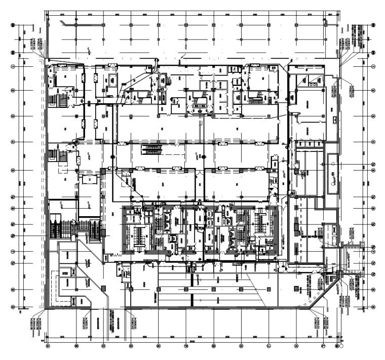北京CBD核心区超高层综合办公楼电气施工图