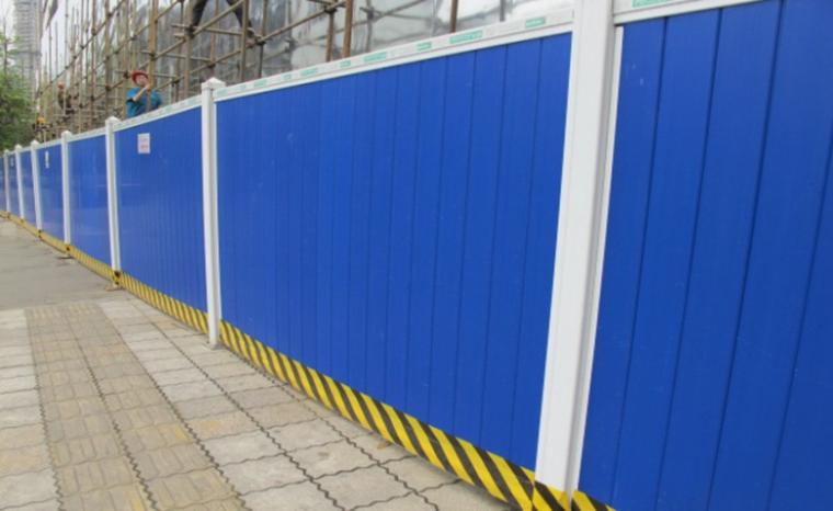 11非主干道旁装配式围墙示意