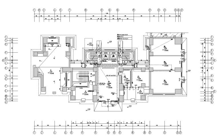小区深化图纸资料下载-上海高档住宅小区弱电深化设计图纸