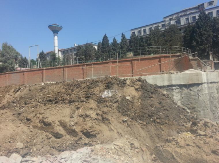 住宅小区地下室桩锚+土钉墙基坑监测报告