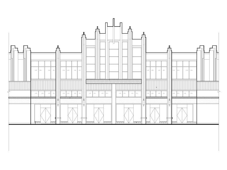 成都某国际社区住宅及底层商业建筑施工图