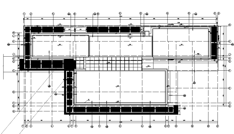 屋面层平面图