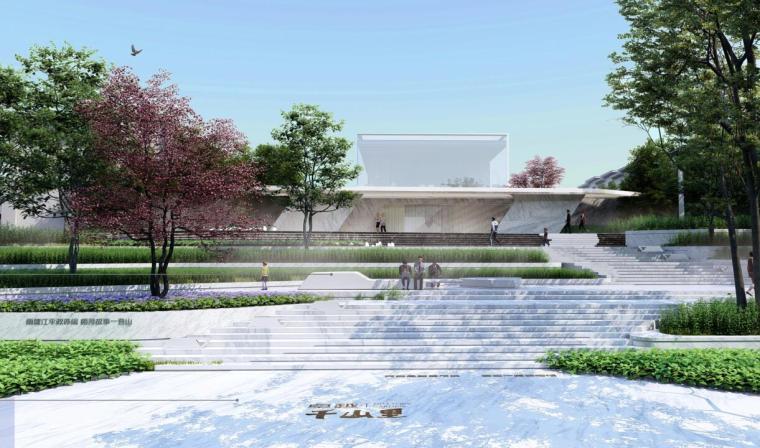 [湖南]麓山现代风格别墅景观深化方案