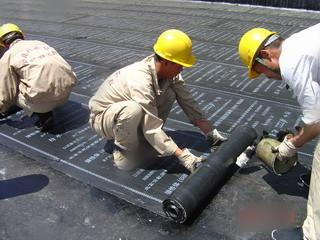 52防水卷材施工