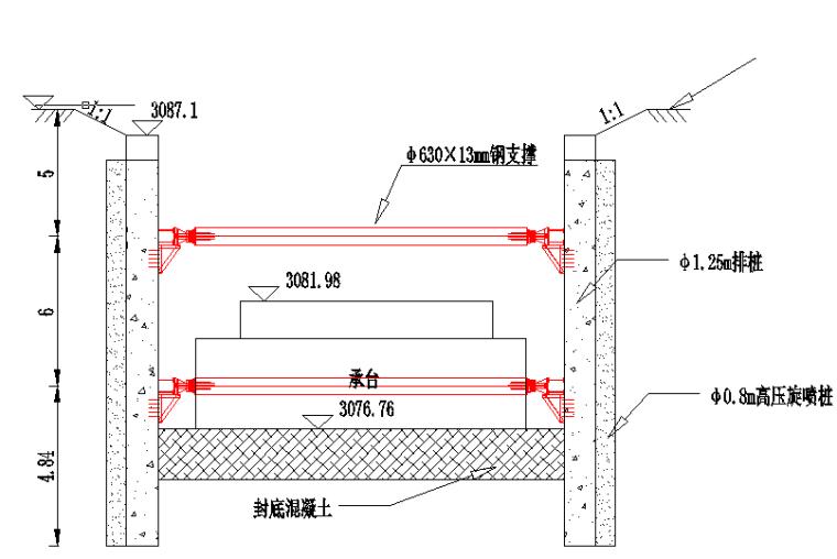 基坑围护桩施工变形监测专项监控量测方案