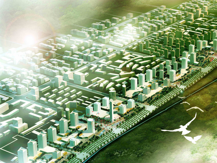 [西安]城市主要道路商业区景观设计方案