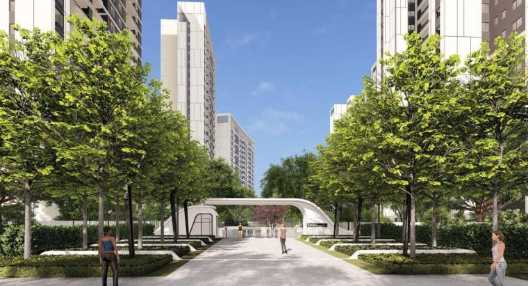 [福建]厦门现代流线住宅景观概念方案