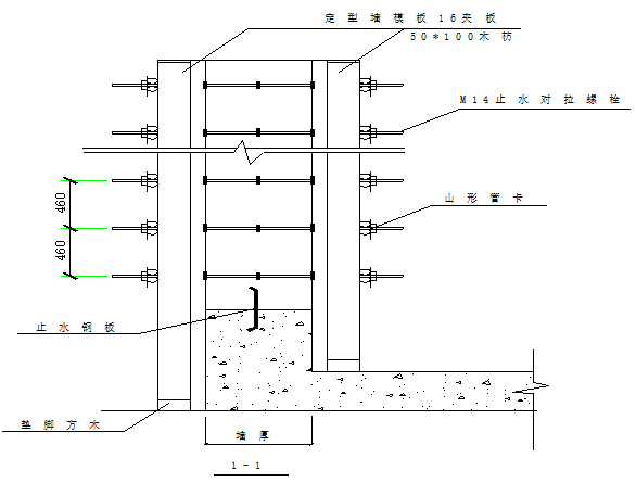 55地下室外墙模板及其支撑体系