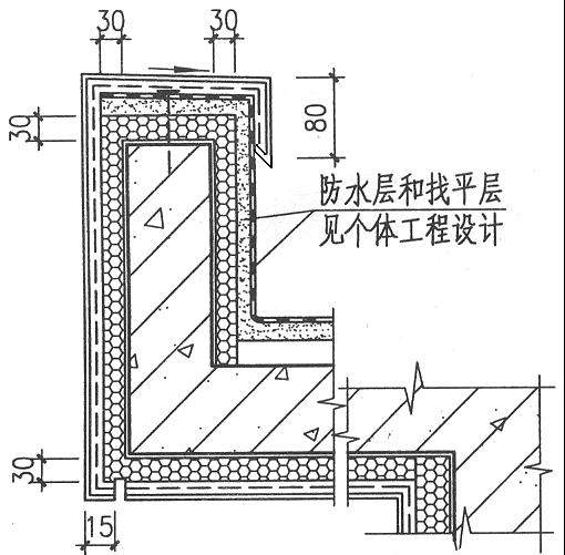 49檐沟部位构造示意图