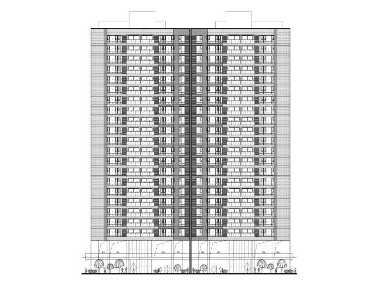 青少年宫建筑图纸资料下载-大型住宅项目建筑图纸含合同招标文件
