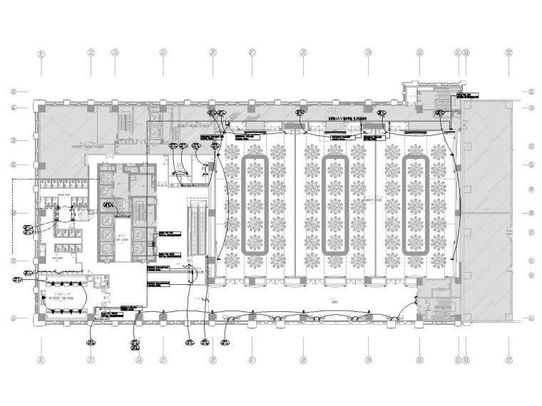 [天津]五星级某达酒店智能化工程施工图纸