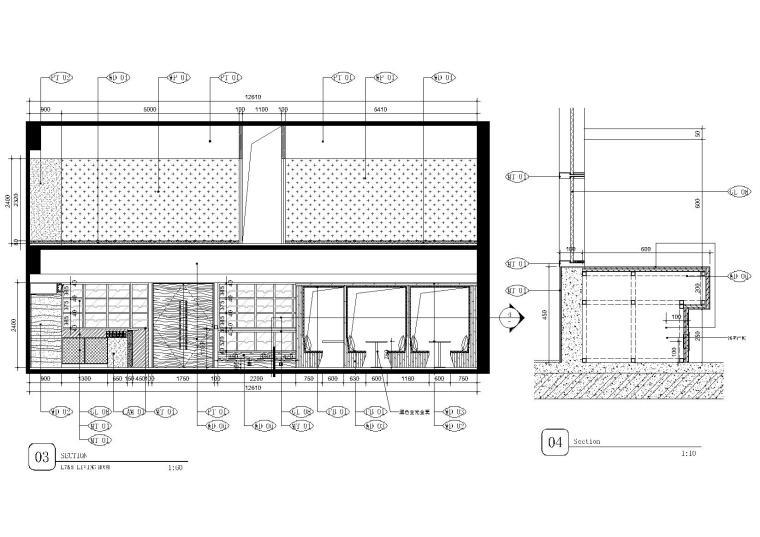 [上海]现代香港办公室施工图+SU模型+效果图-7,8层立面图3