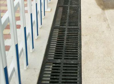 61雨水沟盖板效果