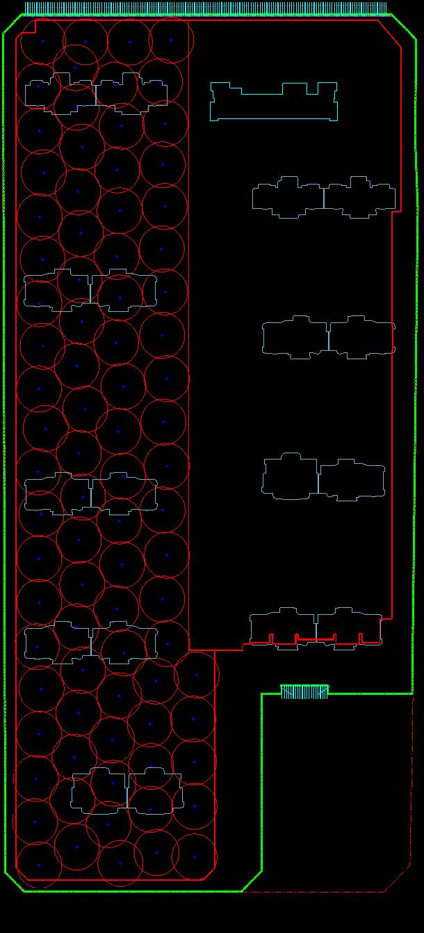 16基坑降水平面布置图