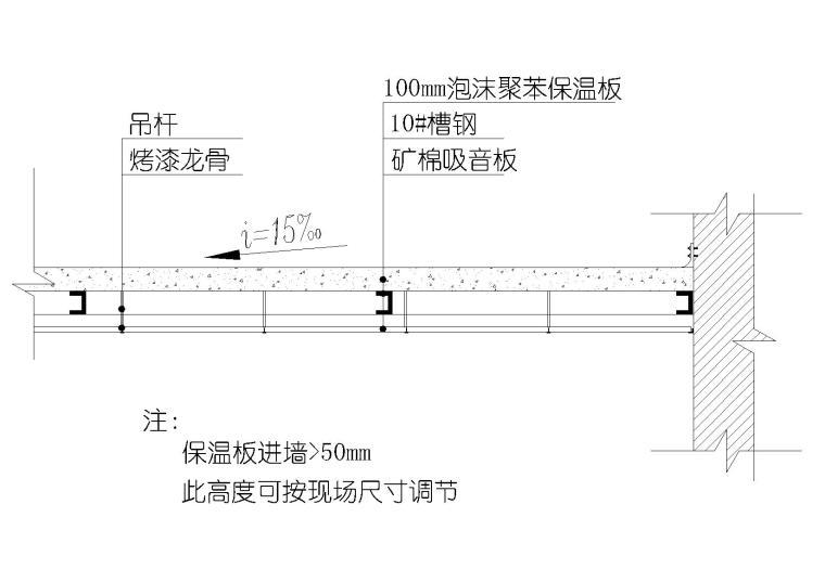 室内顶面矿棉板与风口,检修口等交接节点图