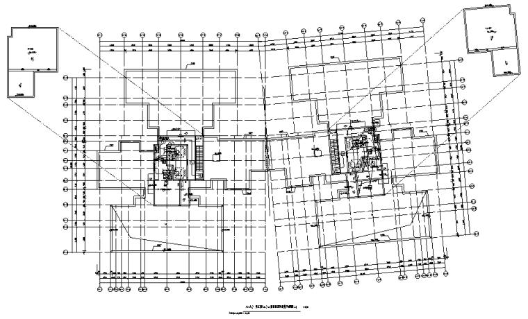 广州大型住宅及配套商业智能化深化图纸