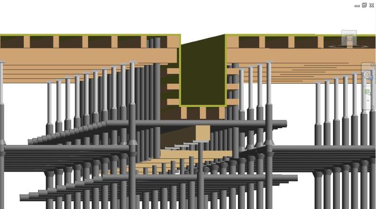 框架核心筒结构高层住宅工程高支模施工方案-83脚手架搭设