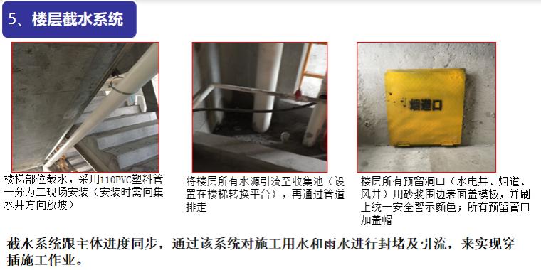 40楼层截水系统