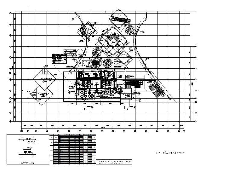 商业C首层空调及通风平面图