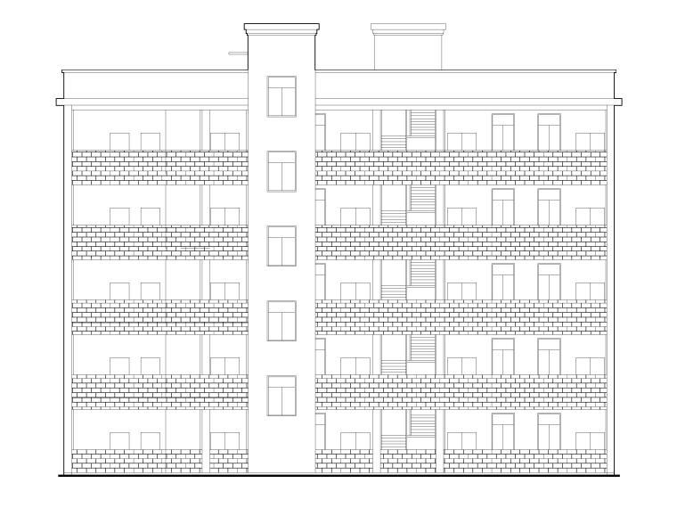 长城中学新建教学楼建筑施工图(含宿舍食堂)