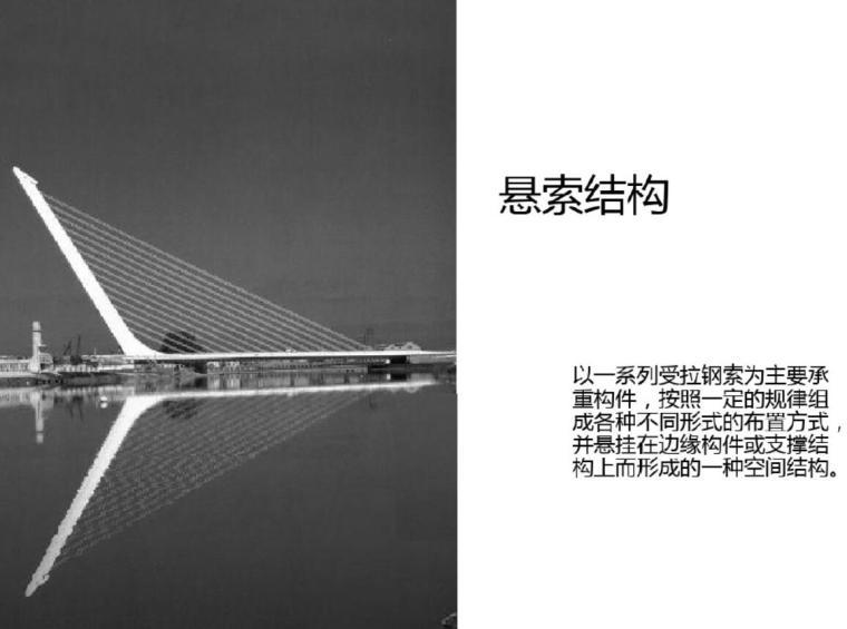 悬索结构——大跨度建筑设计分析