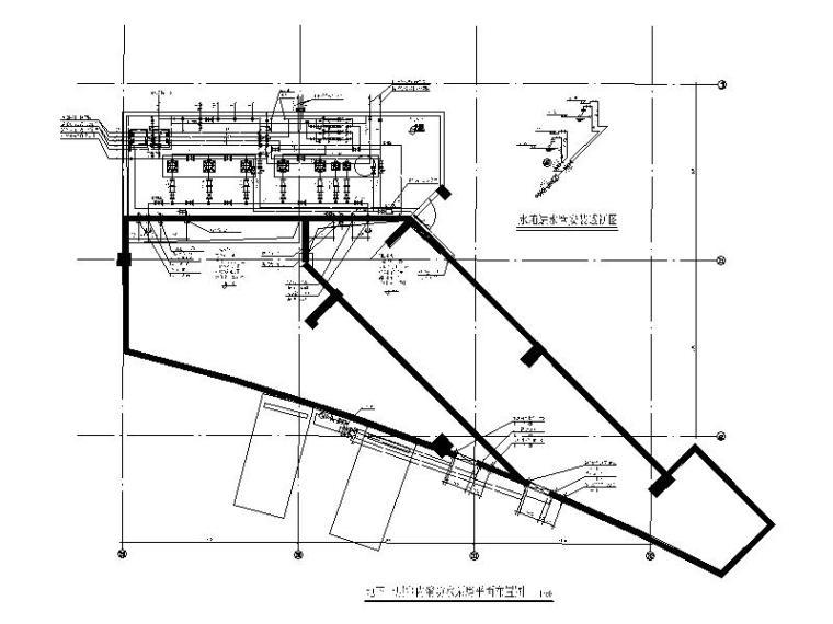 消防水泵房大样图CAD