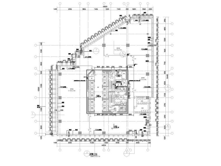 人防照明平面图资料下载-[广东]超高层大厦电气施工图(含人防设计)
