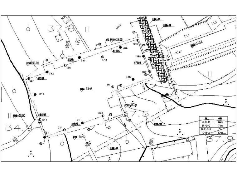 实训楼基坑围护结构设计图及勘察报告2019